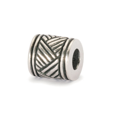 Drum Beat Silver Bead from African World Tour