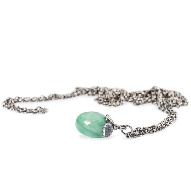 Fantasy Necklace with Emerald