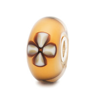 Lucky Clover Trollbeads Glass Bead