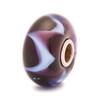 Purple Wave Trollbeads Glass Bead
