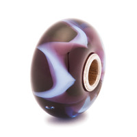 Purple Wave Trollbeads Glass Bead