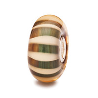 Organic Stripe Glass Trollbeads