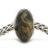 Blue Tiger Eye Faceted Stone on chain