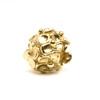 Hydrangea Bead, Gold Trollbeads