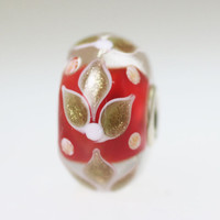 Red Holiday Unique Bead