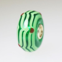 Green Unique  Bead