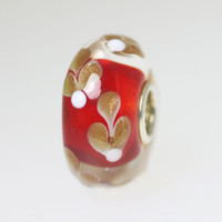 Red Sprig Bead