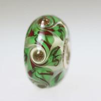 Green Swirl bead