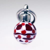Red Ornament Bead