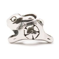 Jumping  Rabbit Baby Trollbeads