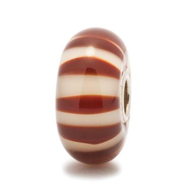 Chocolate Stripe Trollbeads