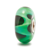 Green Wave Trollbeads Glass Bead