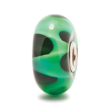 Green Wave Trollbeads Glass Bead