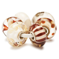 Chocolate and Cream Kit Trollbeads