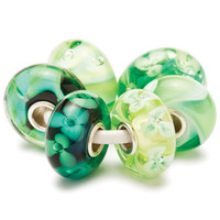Crispy Green Kit Glass Trollbeads