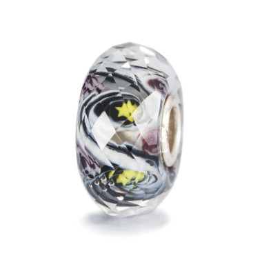 Hope Facet Glass Trollbeads