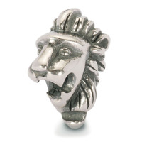 African Pride Silver Lion Trollbead