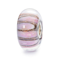 Pink Conch Glass Bead