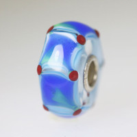 Unique Bead With Blue