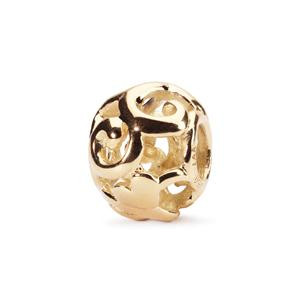 First Signs Bead In 18K Gold