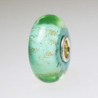 Light Green Seabed Trollbeads