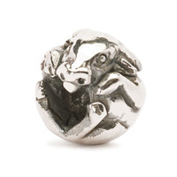 Chinese Ox Silver Trollbeads