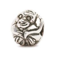Chinese Monkey Silver Trollbeads