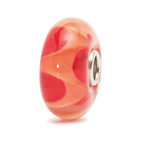 Coral Wave Glass Trollbeads