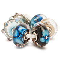 Indigo Glass Trollbeads Kit