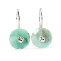 Emerald Earring Components