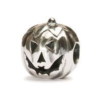 Pumpkin Silver Trollbeads
