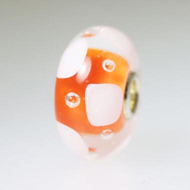 Orange Unique Bead