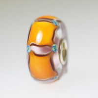Orange Magic Carpet Bead