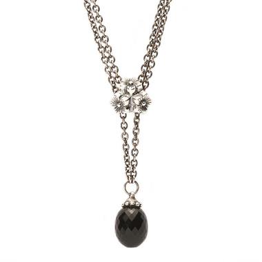 Elderflower Pendant on Necklace
