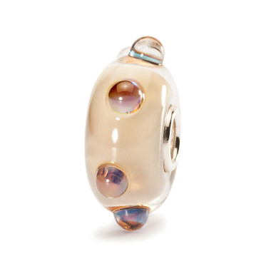 Beige Moonstone Trollbeads Group 1 Glass