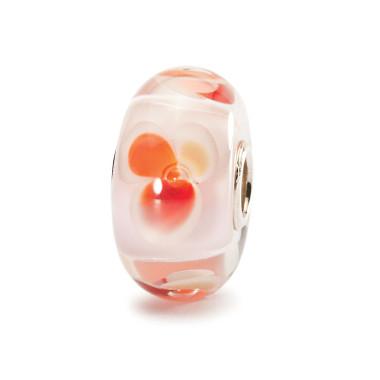 Pink Fantasy Trollbeads Glass Bead