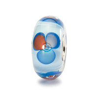 Blue Fantasy Trollbeads Glass 1 bead