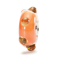 Coral Opal Glass Trollbeads