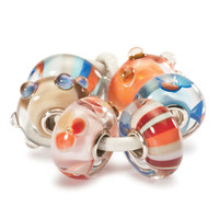 Happy Summer Kit Glass Trollbeads