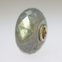 Labradorite Bead With A Twist