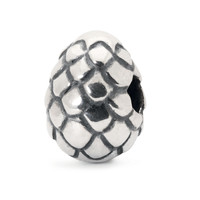 Dragon Egg Sterling Silver Trollbeads