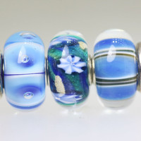 Trio of Matching Unique Beads