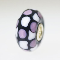 Trollbeads Lavender Faceted Glass Bead