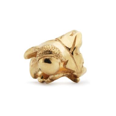 Little Acorn Gold Trollbeads