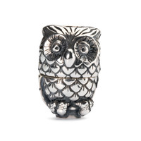Night Owl Sterling Silver Trollbeads