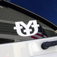 Solid Logo Bumper Sticker