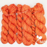 Carnelian Lively DK - Split where there was a knot in skein