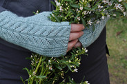 Queen Anne Mitts Pattern HARDCOPY