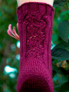 Carlina Sock Pattern HARDCOPY