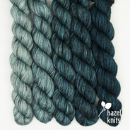 Blue Ombre' Entice set (5 x 105 yards)